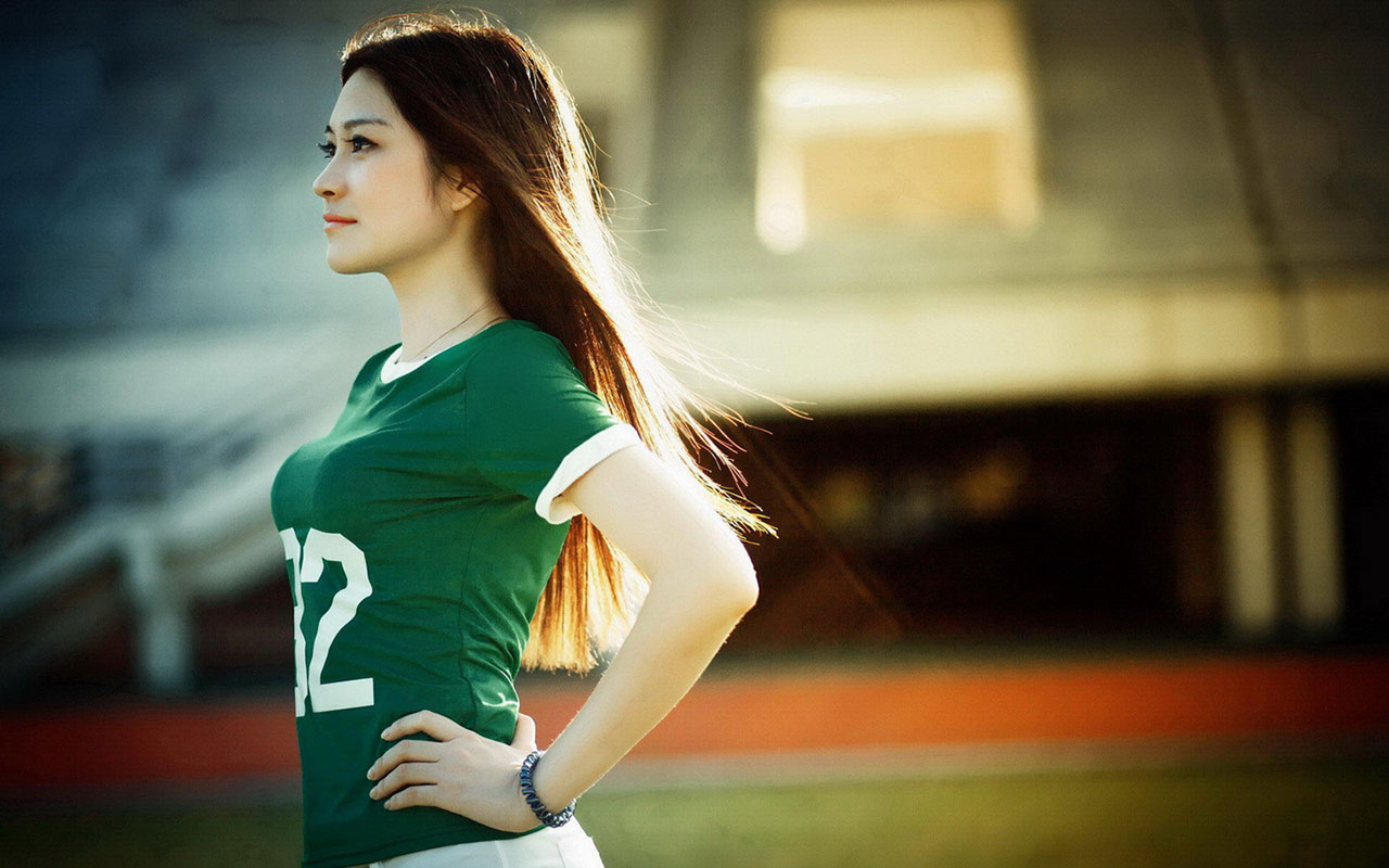Chinese Girl Sports Wallpapers