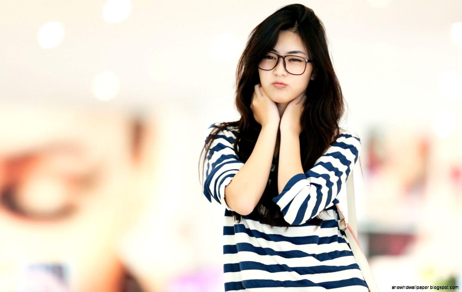 Wallpaper asian girl