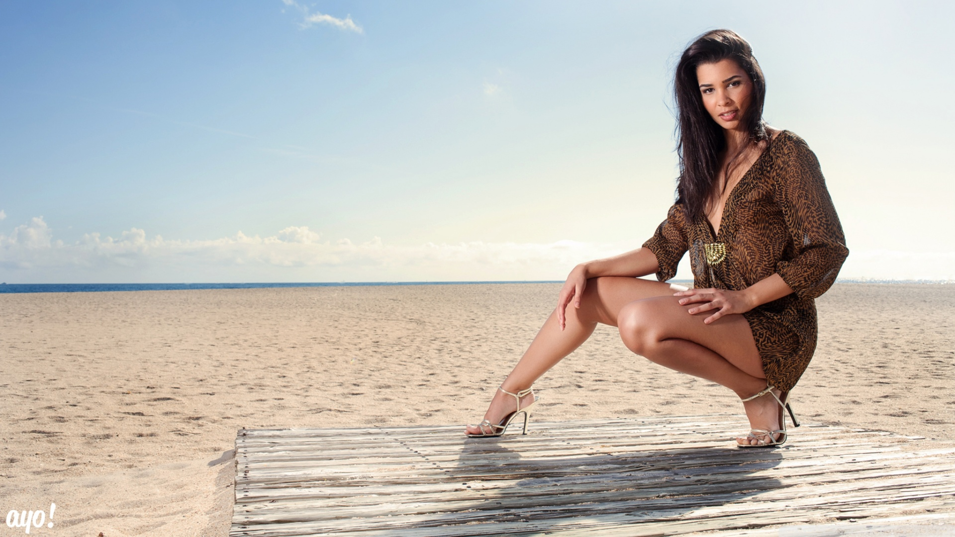Beach girl top cool hd wallpapers